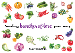 "Click here for more information about ""Bunches of Love"" Honor Card (each)"